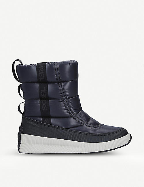 SOREL: Out'N'About logo-print shell boots