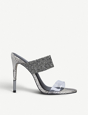 CARVELA Ghost Jewel mules
