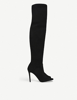 CARVELA Sculpt over-the-knee heeled boots