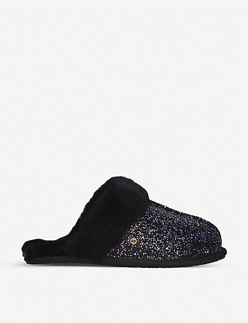 UGG Scuffette II suede cosmos slippers