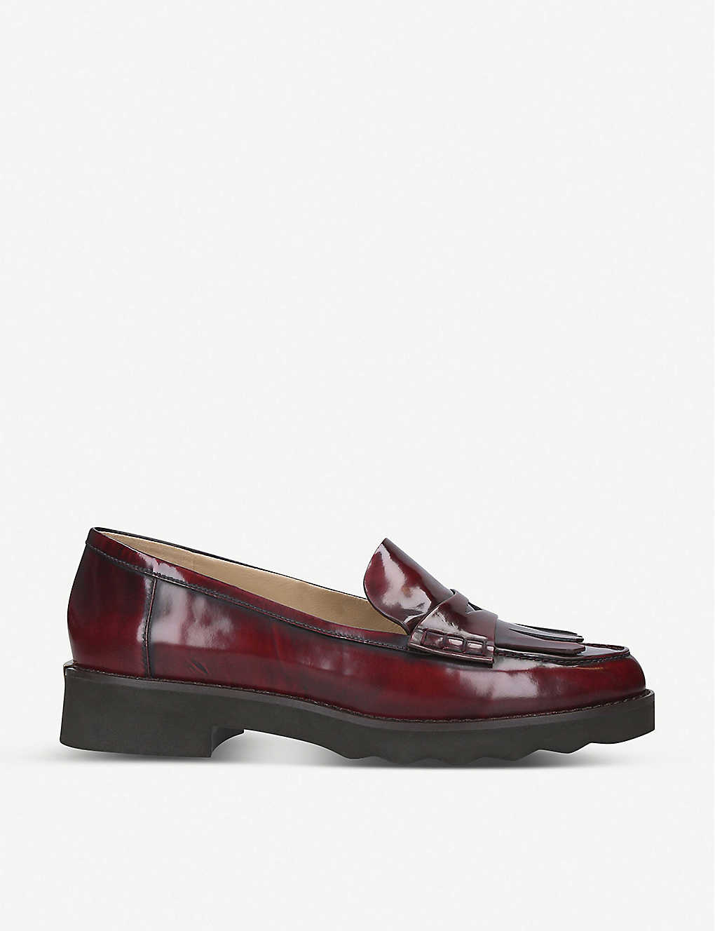 MICHAEL MICHAEL KORS: Alberta patent-leather loafers