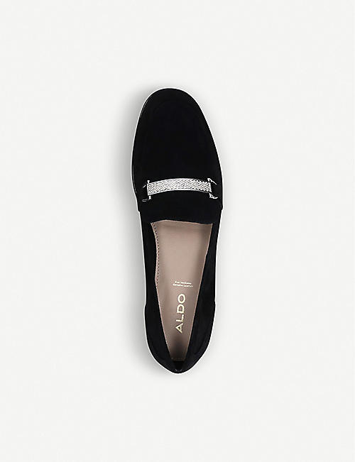 ALDO Edna leather loafers