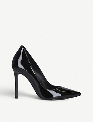 MICHAEL MICHAEL KORS Keke patent leather courts