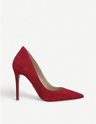 MICHAEL MICHAEL KORS: Keke pointed-toe suede courts