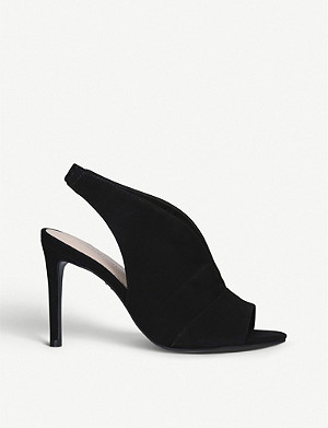 CARVELA Guilty suede heeled sandals