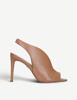CARVELA Guilty leather heeled sandals