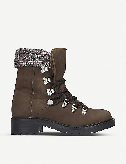 ALDO Menuda nubuck leather hiking boots