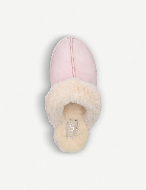 UGG Scuffette ii shearling-lined suede slippers