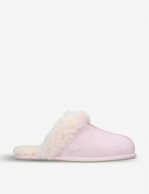 f53b73df3bf UGG - Scuffette ii shearling-lined suede slippers   Selfridges.com