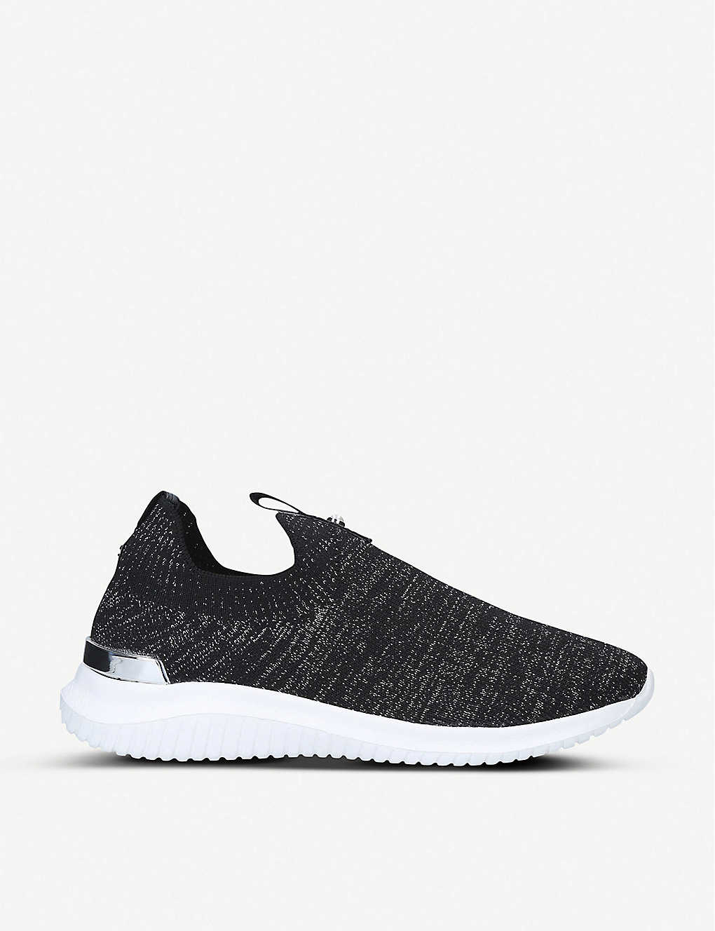 KG KURT GEIGER: Lifted knitted sock trainers
