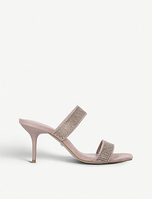 CARVELA Genetic suede sandals