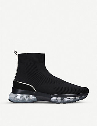 CARVELA: Link Bubble sock trainers
