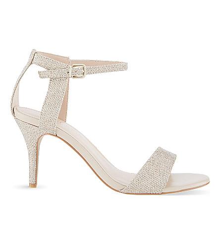 3b198a010835 CARVELA Kollude metallic heeled sandals (Gold