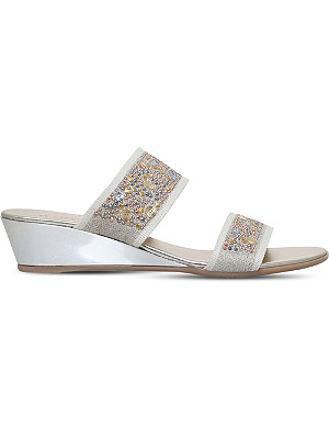 257f839cd69a CARVELA COMFORT - Sara suede espadrille wedge sandals