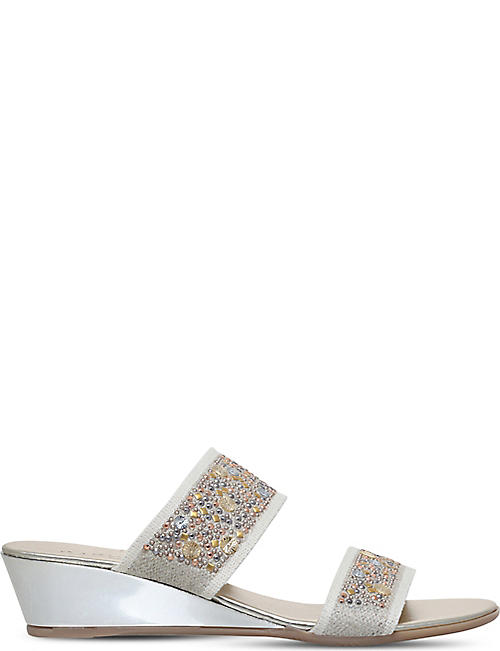 CARVELA COMFORT Stella studded wedge sandals
