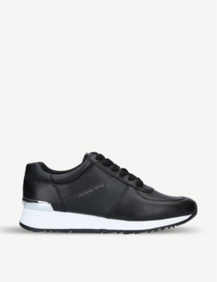 MICHAEL MICHAEL KORS Allie leather trainers