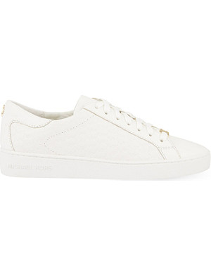 MICHAEL MICHAEL KORS Colby leather trainers