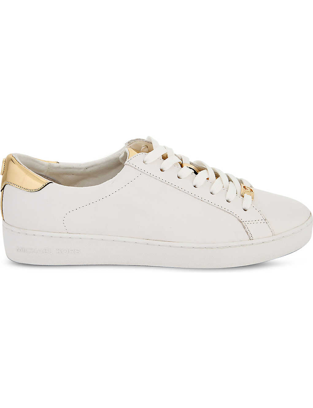 3e6128515a5 MICHAEL MICHAEL KORS - Irving leather trainers