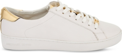 MICHAEL MICHAEL KORS Irving leather trainers
