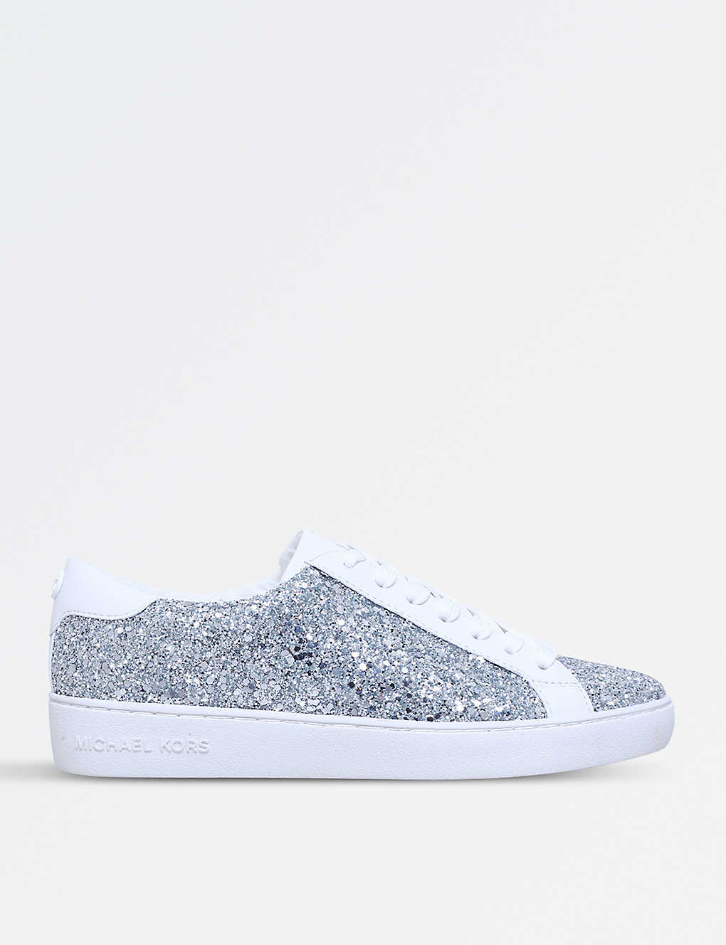 291a97b46e4 MICHAEL MICHAEL KORS - Irving glitter and leather trainers ...