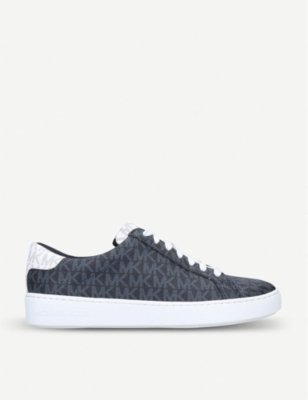 MICHAEL MICHAEL KORS Irving faux-leather low-top trainers