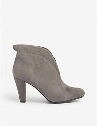 CARVELA COMFORT: Rida heeled suede ankle boots