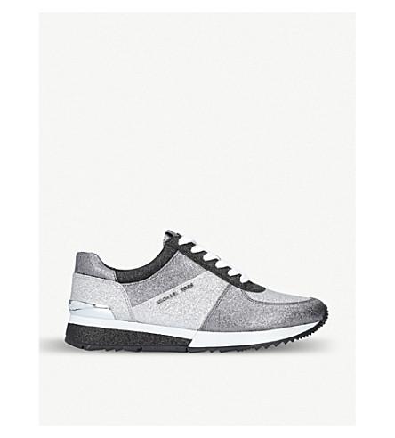 Allie Glitter Sneaker, Silver