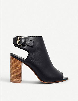 CARVELA: Assent leather heeled sandals