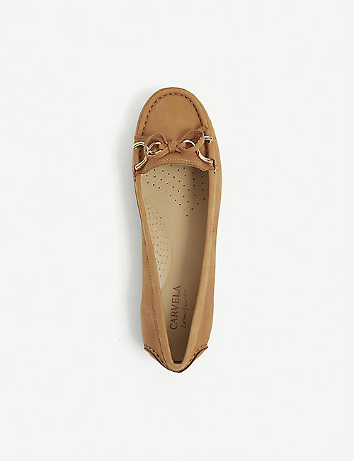 CARVELA COMFORT Cally suede loafers