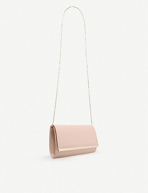 CARVELA Dylan foldover clutch bag