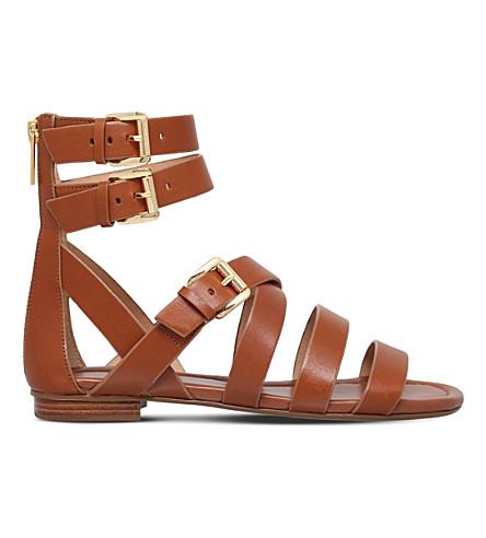aa975f5e8a0 MICHAEL MICHAEL KORS Jocelyn leather sandals (Tan