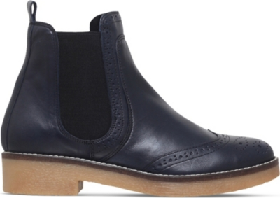 CARVELA Navy leather Slowest