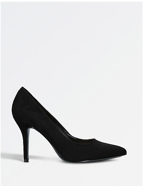 NINE WEST: Flagship faux-suede courts
