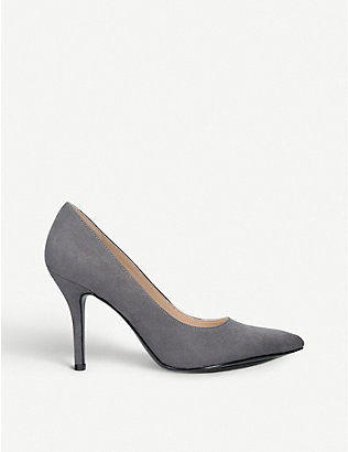 NINE WEST: Flagship faux-leather courts