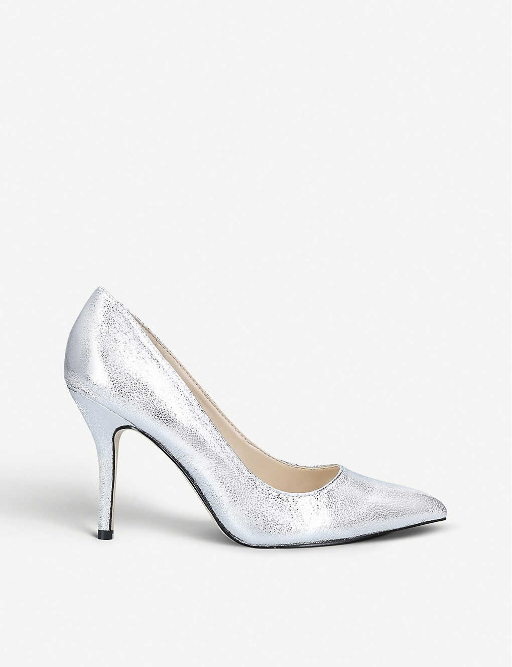 NINE WEST: Dylan leather court shoes