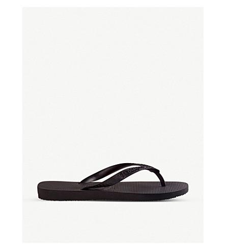 28af01c74029 HAVAIANAS Top flip-flops (Black