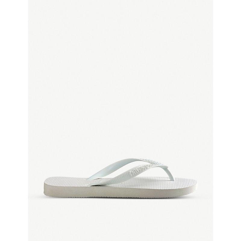 HAVAIANAS   Havaianas Top Flip-Flops, Women'S, Size: 13, White   Goxip