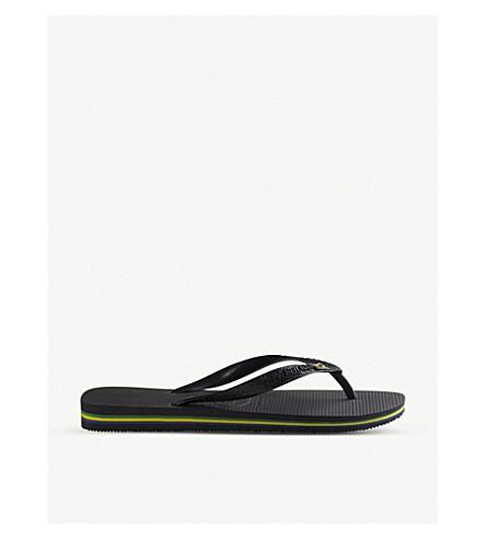 4e8fed3a2 ... HAVAIANAS Brazil flip-flops (Black. PreviousNext