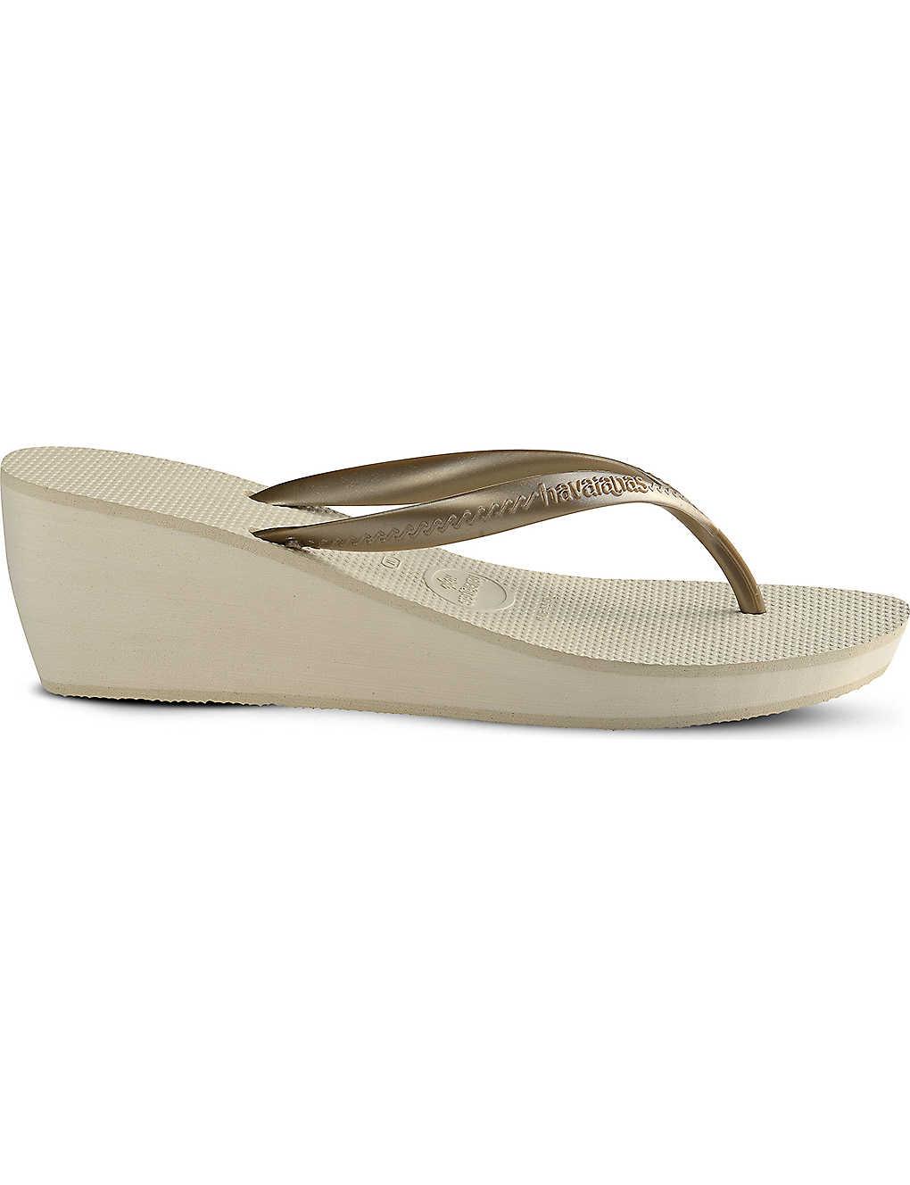 aa78baea2 HAVAIANAS - High Fashion wedge flip-flops