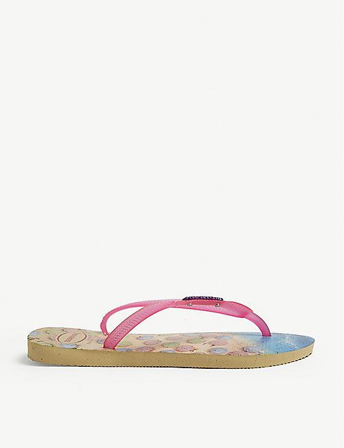 87fb2809a779c HAVAIANAS Slim Paisage graphic-print rubber flip-flops