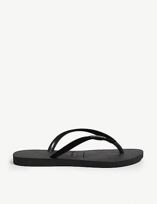 49c58d691777 HAVAIANAS - Allure Maxi embellished rubber flip-flops