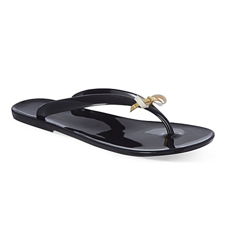 Ted Baker Slim Bow Jelly Flip Flops Selfridges Com