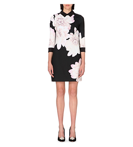 0820d35c4c6b TED BAKER - Kida floral-print dress   Selfridges.com