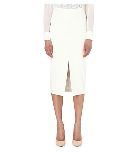 47eb63944ddfed TED BAKER - Gemia stretch-crepe pencil skirt | Selfridges.com