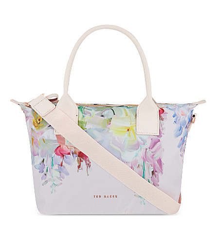 96021f0c5cd1fb ... TED BAKER Ferniy Hanging Gardens small nylon tote (Baby+pink.  PreviousNext