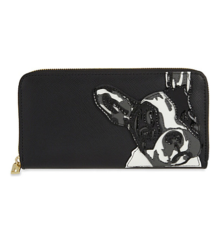 french bulldog purse ted baker french bulldog print leather matinee purse 7975