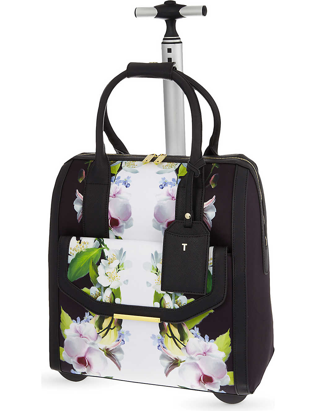 0a5849a2a57 TED BAKER - Manala Forget Me Not two-wheel travel bag | Selfridges.com