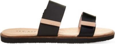 0dcd5801a TED BAKER - Maiwen metallic leather sandals