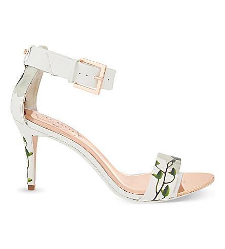 ... TED BAKER Blynne ankle strap sandals (Ash. PreviousNext