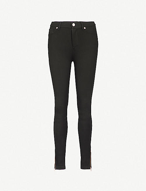 TED BAKER: Fioni skinny mid-rise jeans